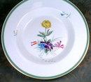 Royal COPENHAGEN Fiesta SOUP Plate (4) -H. P. -