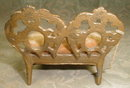 Miniature SETTEE Dollhouse SOFA - Antique -