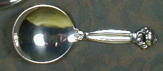 Georg Jensen ACORN Spoon -STERLING SILVER -