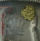 Georgian STERLING Basket LONDON - 1797 -