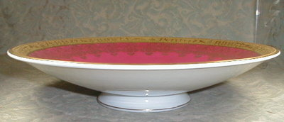 HUTSCHENREUTHER Fairy Compote - GOLD & Pink -