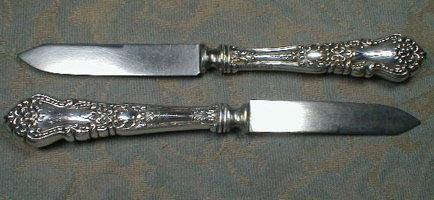 STERLING Fruit Knives Blackinton Co -ANTIQUE-
