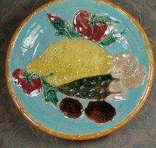 WEDGWOOD Majolica FRUIT Bowl - ANTIQUE -