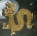 DRAGON Pin LARGE - Vintage -