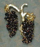 AMETHYST Grape ViNE Pin - VINTAGE -