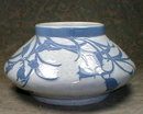 Gustafsberg Vase 1902 Blue & White SIGNED