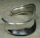 Mexican STERLING Cuff MODERNE - Hand Made -