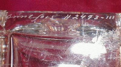ORREFORS Decanter SWEDEN Cut Crystal