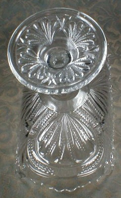 BANANA Stand EAPG Pressed Glass - Antique -