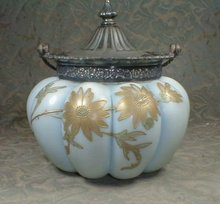 Mt Washington Biscuit Jar Japanoise Style -ANTIQUE-