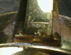 Unusual Brass Lamp WRK Austria. No Genii.