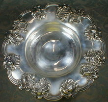 UNGER Brothers STERLING - Poppy - ANTIQUE