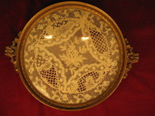 APOLLO Lace Insert Vanity Tray - ANTIQUE -