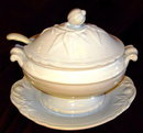 WEDGWOOD Ironstone Sauce Tureen - ANTIQUE -