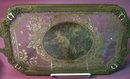 Gold Lace Insert Vanity Tray - ANTIQUE -