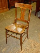 Antique Solid Oak Chair