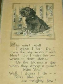 BUZZA Framed Black Scottish Terrier Poem Print