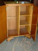 English Quarter Sawn Tiger Oak Fitted Wardrobe