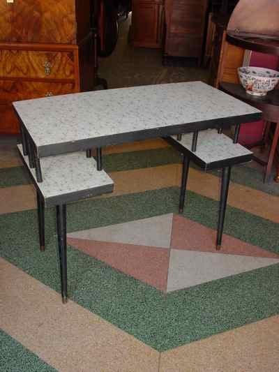 Mid-Century Modern Desk & Chair