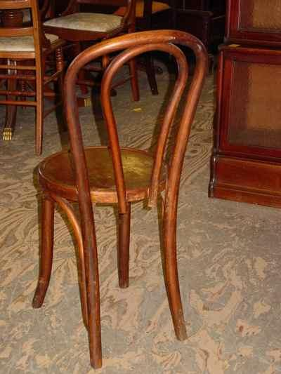 Set of 4 Shelby Williams Manufacturing Inc Bentwood Chairs