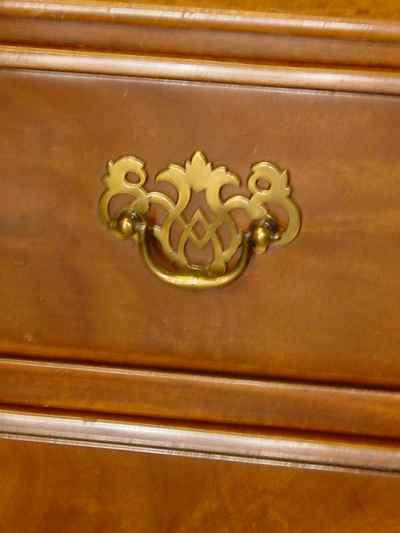 Solid Mahogany Lowboy Chest