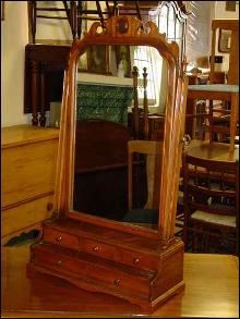 Solid Mahogany Dressing Mirror