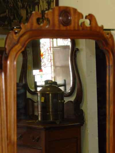 Solid Mahogany Dressing Mirror