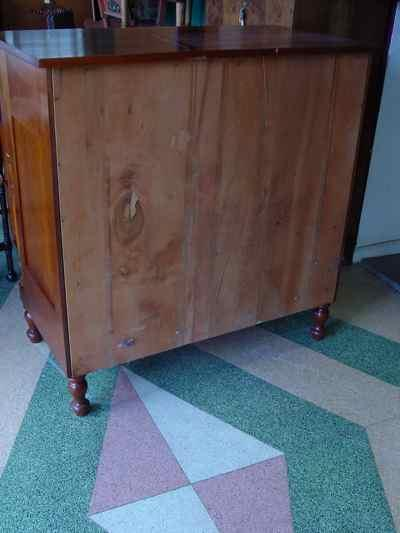 Vintage Solid Cherry Chest