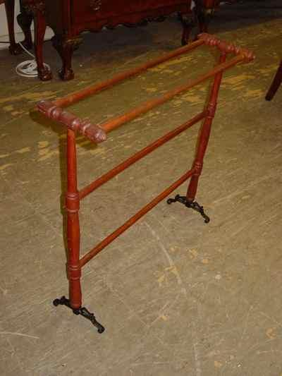 Antique Solid Cherry Quilt Rack