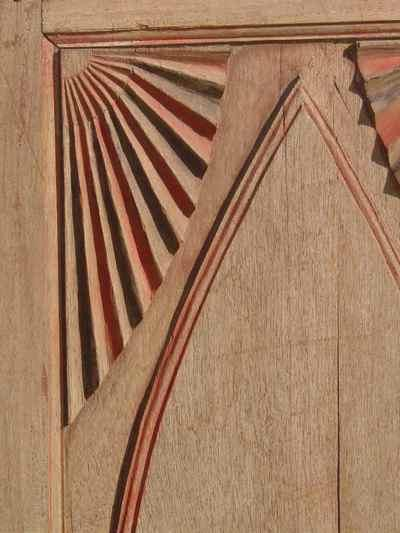 Antique Solid Wood Decorative Painted Panel