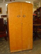 Majority Furniture English Birdseye Maple Small Fitted Wardrobe