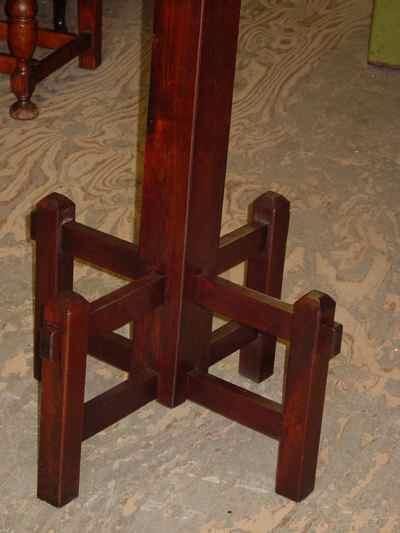Antique Arts & Crafts Mission Style Black Walnut Coat or Hat Rack