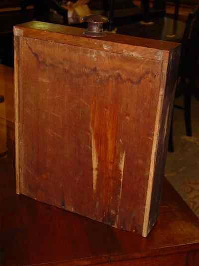 Antique Solid American Black Walnut Side Table