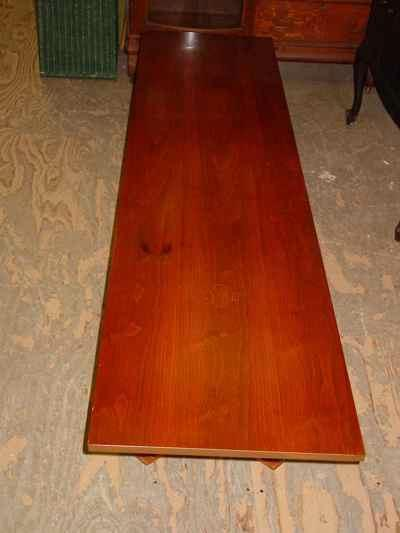 Danish Modern Walnut Coffee Table