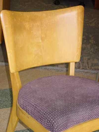 Heywood-Wakefield Solid Maple Chair