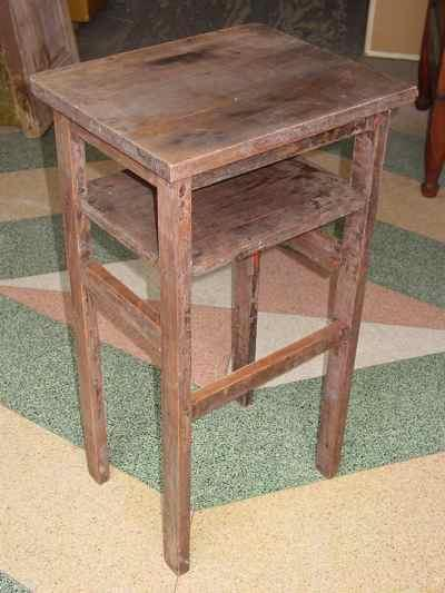 Antique Solid Maple Work Table