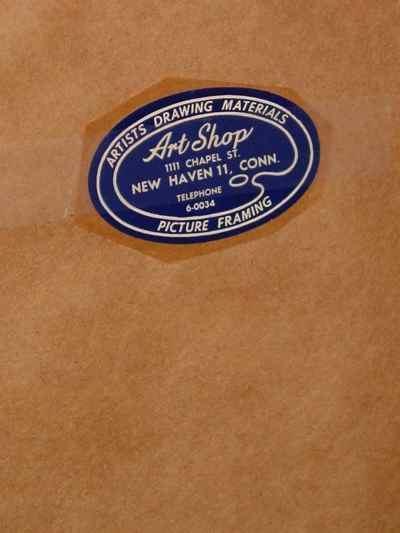 Original Signed R. J. Wendell Engraving