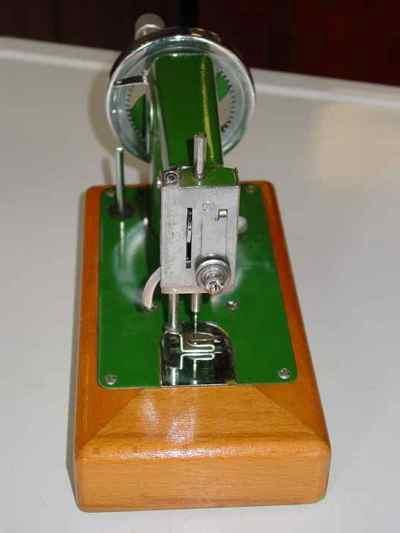 Vintage Necchi Children's Hand Crank Sewing Machine & Carrying Case