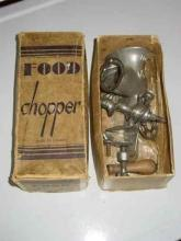 Antique Maxwells Limited No. 10 O.K. Food Chopper in Box