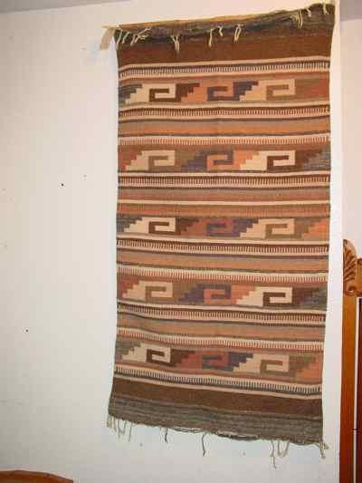 Mexican Vintage Saddle Blanket