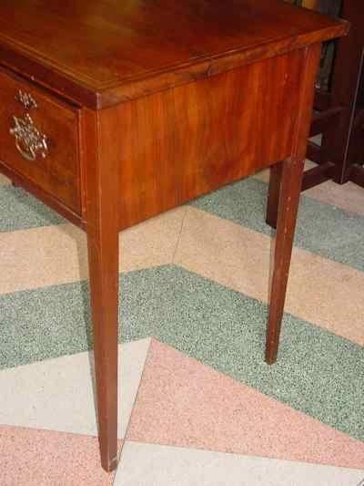 English Antique Sheraton Mahogany Desk