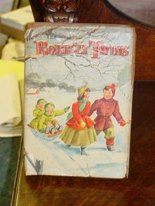 The Bobbsey Twins Merry Days Indoor And Out by Laura Lee Hope, 1950 Edition