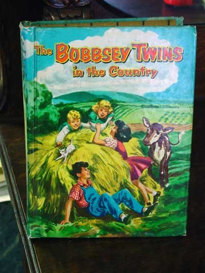The Bobbsey Twins In the Country by Laura Lee Hope, 1950 Edition