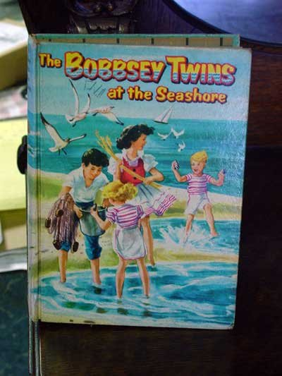 The Bobbsey Twins At The Seashore by Laura Lee Hope, 1950 Edition