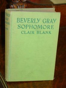 Beverly Gray Sophomore by Claire Blank, 1934 Edition