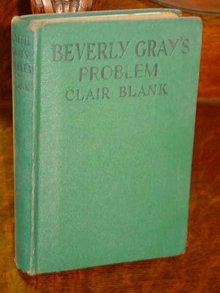 Beverly Gray's Problem by Claire Blank, 1943 Edition