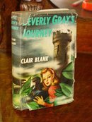 Beverly Gray's Journey by Claire Blank, 1946 Edition