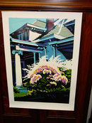 Frenzy Artist Signed Carman Numbered Lithograph 42/175