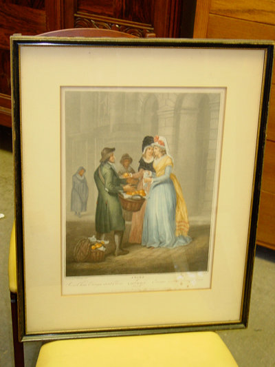 Sweet China Oranges, Sweet China, Vintage Francis Wheatley Print