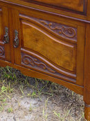 Solid Mahogany Gentleman's Chest
